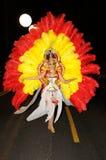 TENERIFE, LUTY 12: Grupa w karnawale Zdjęcie Stock