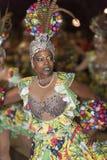 TENERIFE, LUTY 25: Charaktery i grupy w karnawale Zdjęcia Royalty Free