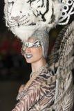 TENERIFE, LUTY 25: Charaktery i grupy w karnawale Zdjęcie Royalty Free