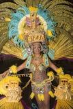 TENERIFE, LUTY 25: Charaktery i grupy w karnawale Fotografia Royalty Free