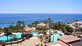 Tenerife lyxhotell Arkivbild