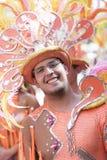 TENERIFE, MARZEC 05: Charaktery i grupy w karnawale Zdjęcia Stock