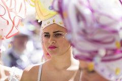 TENERIFE, MARZEC 05: Charaktery i grupy w karnawale Zdjęcie Stock