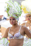 TENERIFE, MARZEC 05: Charaktery i grupy w karnawale Zdjęcia Royalty Free