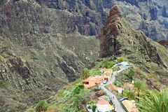 Tenerife - Masca Stock Photo