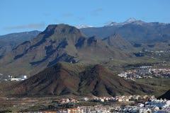 Tenerife Mountains Royalty Free Stock Photos