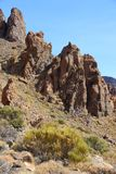 Tenerife mountains Stock Photography