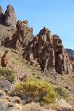 Tenerife mountains stock photography