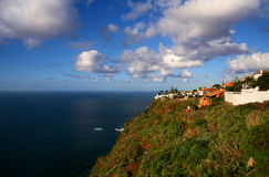 Tenerife-Nordküste-Ansicht Stockfotografie