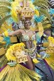 TENERIFE, O 28 DE FEVEREIRO: Caráteres e grupos no carnaval Fotografia de Stock Royalty Free