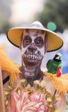 TENERIFE, O 28 DE FEVEREIRO: Caráteres e grupos no carnaval Fotos de Stock Royalty Free