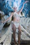 TENERIFE, O 28 DE FEVEREIRO: Caráteres e grupos no carnaval Fotografia de Stock