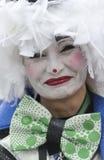 TENERIFE, O 28 DE FEVEREIRO: Caráteres e grupos no carnaval Imagem de Stock Royalty Free