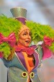 TENERIFE, O 23 DE JANEIRO: Caráteres e grupos no carnaval Fotos de Stock Royalty Free