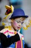 TENERIFE, O 23 DE JANEIRO: Caráteres e grupos no carnaval Fotografia de Stock Royalty Free