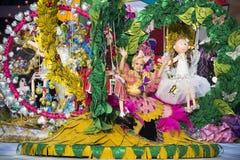 TENERIFE, O 24 DE JANEIRO: Caráteres e grupos no carnaval Fotos de Stock Royalty Free