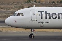 TENERIFE OKTOBER 13: Nivå som ska landas Oktober 13, 2017, Tenerife Cana Royaltyfri Fotografi