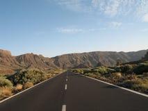 Tenerife parque Nacional el Teide Royaltyfri Foto