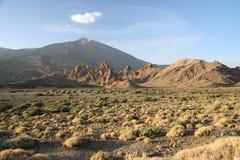 Tenerife parque Nacional el Teide Arkivbilder