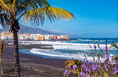 Free Tenerife Plaja And Town Stock Images - 162193664
