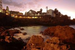 Tenerife - Puerto DE La Cruz stock afbeelding