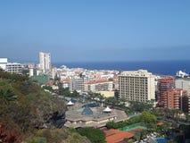Tenerife Puerto de la Cruz Fotografie Stock