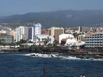 Tenerife Puerto de la Cruz fotografia stock libera da diritti