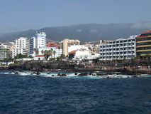 Tenerife Puerto de la Cruz Immagini Stock Libere da Diritti