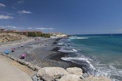 Tenerife quiet day at the beach Stock Photos