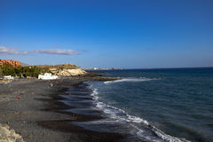 Tenerife quiet day at the beach Stock Images