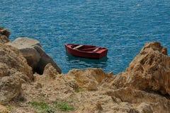 Tenerife, scène rond Playa Colmenares, Cactussen en landschap royalty-vrije stock foto's