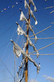 TENERIFE, SEPTEMBER 13: Mexican school ship docked at the Port o Stock Photo