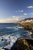 Tenerife Shore Scenery Royalty Free Stock Photography