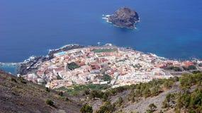 Tenerife sikt Arkivbild