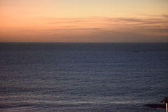 Tenerife solnedgång Royaltyfria Bilder