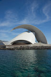 TENERIFE, SPAIN - JANUARY 16: Auditorio de Tenerife on January 1 Royalty Free Stock Images