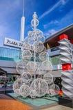 TENERIFE, SPANJE - DEC 2012: Het monument van het ballenkarkas op 6 December, 2012 Royalty-vrije Stock Afbeeldingen