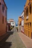 tenerife stary mały miasteczko Fotografia Royalty Free