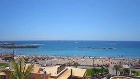 Tenerife - Strand, Overzees, Boten en Pret stock videobeelden
