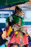 TENERIFE, STYCZEŃ 23: Charaktery i grupy w karnawale Fotografia Stock
