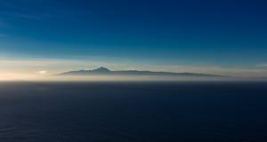 Tenerife in sunset Stock Image