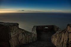 Tenerife in sunset Royalty Free Stock Photos