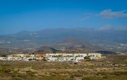 Tenerife Sur flygplatslandskap Royaltyfria Foton