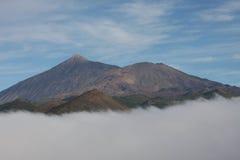 tenerife teide EL ηφαίστειο Στοκ εικόνες με δικαίωμα ελεύθερης χρήσης