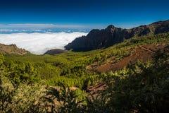 Tenerife Teide i El Zdjęcia Stock