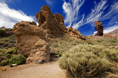 Tenerife. Teide Las Canadas-Los Roques Tenerife Canary Island Royalty Free Stock Photo