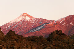 Tenerife - Teide volcano landscape Stock Photo