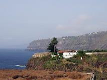Tenerife vicino a Puerto de la Cruz immagini stock libere da diritti