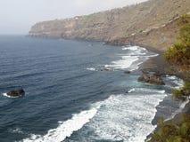 Tenerife vicino a Puerto de la Cruz fotografia stock libera da diritti