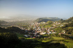 Tenerife, view down to the west Stock Image